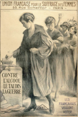 French Women's Suffrage poster